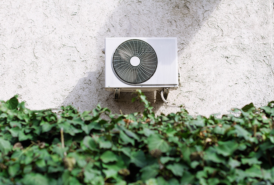 Air Conditioner outside showing how it can cool your home.