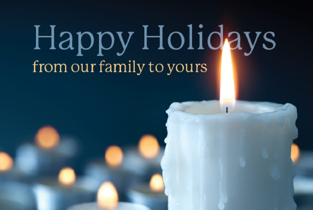 happy holidays from griffin heating & air conditioning